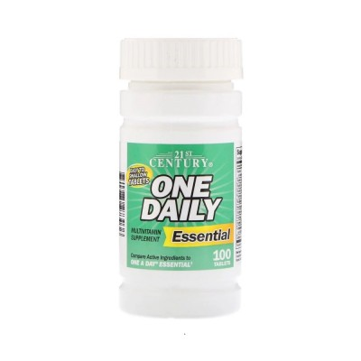 21st Century One Daily Essential (100 tabs)