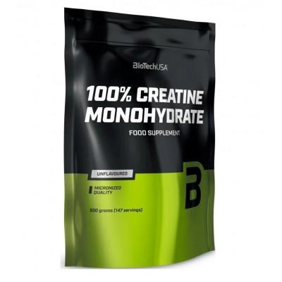 BioTech USA 100% Creatine Monohydrate (500g) packet