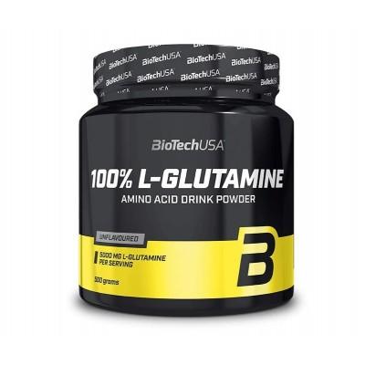BioTech USA 100% L-Glutamine (500g)