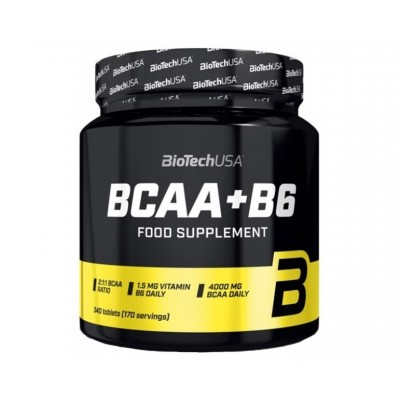 BioTech USA BCAA+B6 (340 tabs)