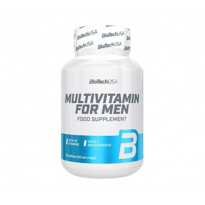 BioTech USA Multivitamin for Men (60 tabs)