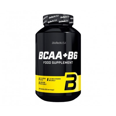 BioTech USA BCAA+B6 (200 tabs)