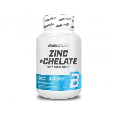 BioTech USA Zinc+Chelate (60 tabs)