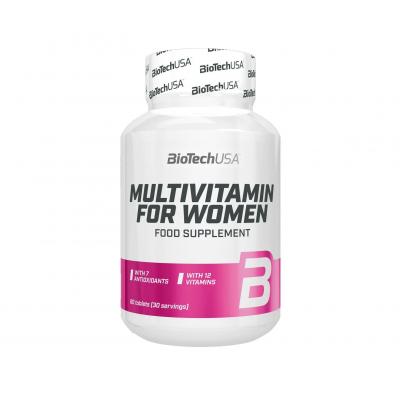 BioTech USA Multivitamin for Women (60 tabs)