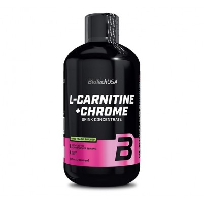 BioTech USA L-Carnitine + Chrome (500ml)