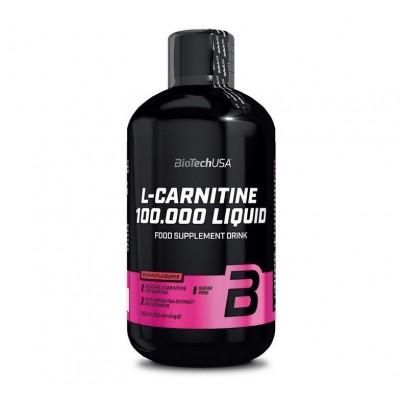 BioTech USA L-Carnitine 100.000 Liquid (500ml)