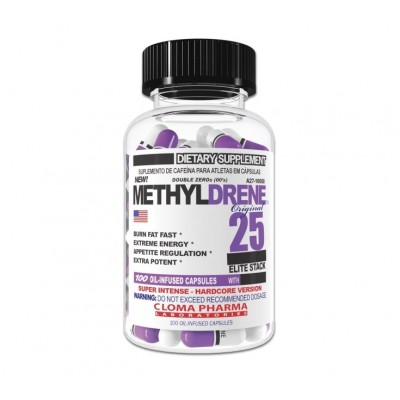 Cloma Pharma Methyldrene Elite 25 (100 caps)