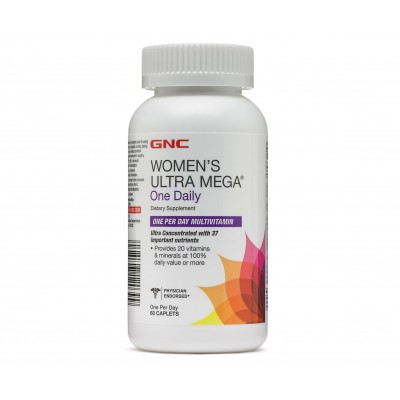 GNC Women's Ultra Mega ONE DAILY (60 capl)