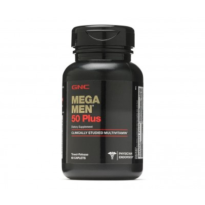 GNC Mega Men 50 Plus (60 capl)