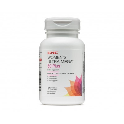 GNC Women's Ultra Mega 50 Plus (60 capl)
