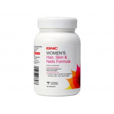 GNC Women's Hair,Skin & Nails Formula (120 capl)