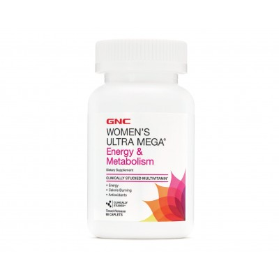 GNC Women's Ultra Mega Energy & Metabolism (90 capl)