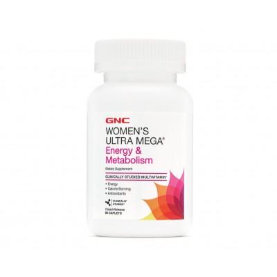 GNC Women's Ultra Mega Energy & Metabolism (90 capl)