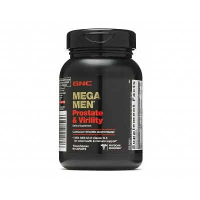 GNC Mega Men Prostate & Virility (90 capl)
