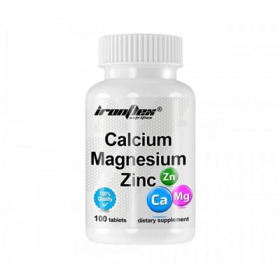 IronFlex Calcium Magnesium ZInc (100 tabs)