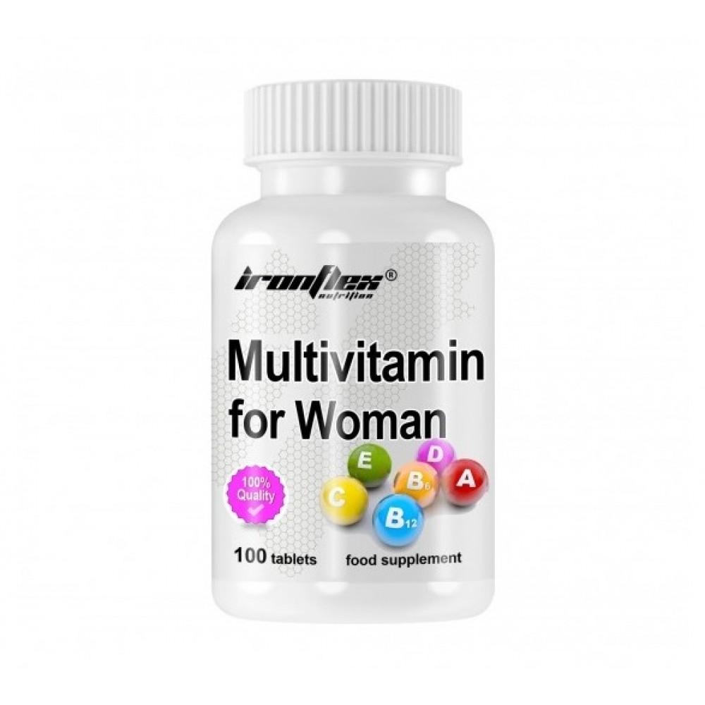 IronFlex Multivitamin For Women (100 tabs)