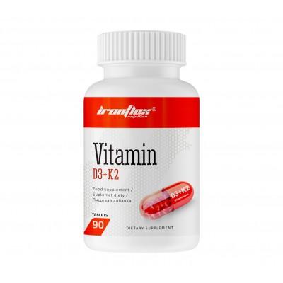 IronFlex Vitamin D3+K2 (90 tabs)