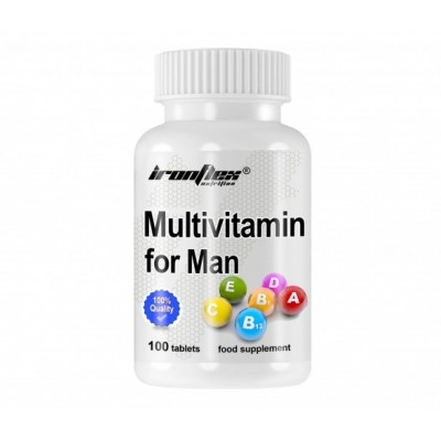 IronFlex Multivitamin For Men (100 tabs)