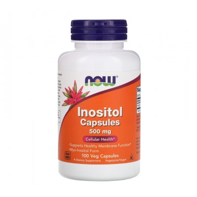 NOW Inositol 500mg (100 caps)