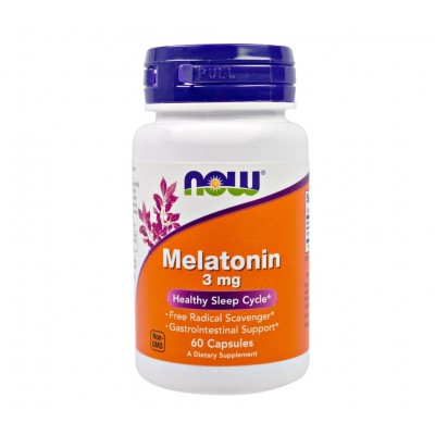 NOW Melatonin 3mg (60 caps)