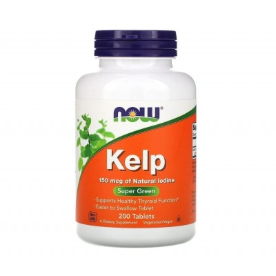 NOW Keip 150 mcg of Natural Iodine (200 tabs)