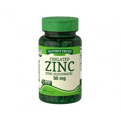 Nature's Truth Chelated Zinc 50 mg (100 tabs)