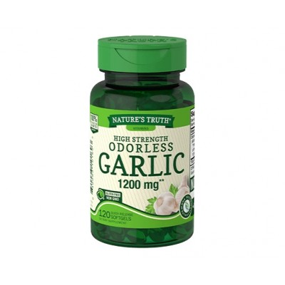 Nature's Truth High Strength Odorless Garlic 1200 mg (120 softgels)