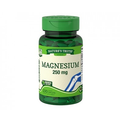 Nature's Truth Magnesium 250 mg (100 capl)