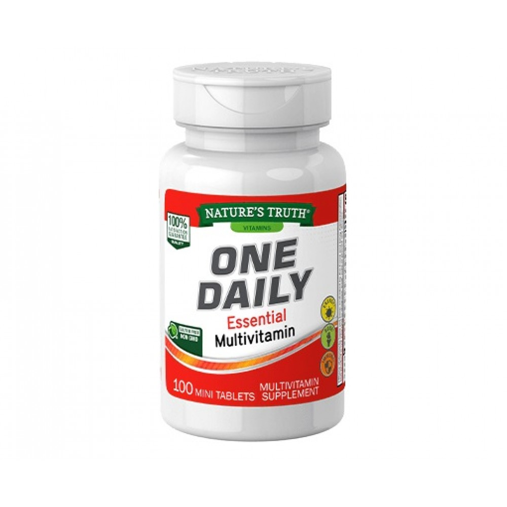 Nature's Truth One Daily Essential Multivitamin (100 mini - tabs)