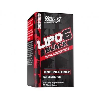 Nutrex Lipo 6 Black Ultra Concentrate ( 60 caps)