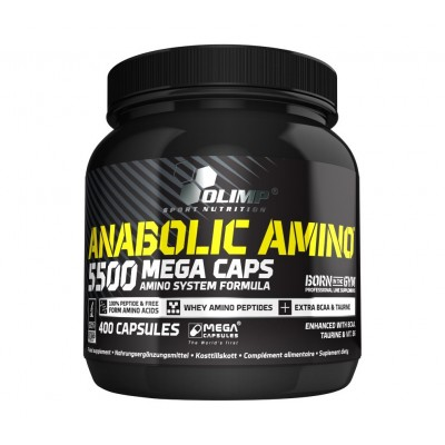 Olimp Labs Anabolic Amino 5500 Mega Tabs (400 caps)