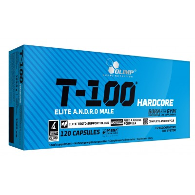 Olimp Labs T-100 Hardcore (120 caps)