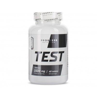 Progress Nutrition TEST 1500mg (60 tabs)