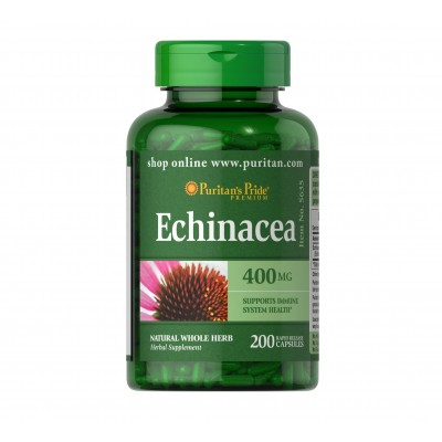 Puritan's Pride Echinacea 400mg (200 caps)