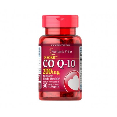 Puritan's Pride Q-SORB™ Co Q-10 200 mg (30 caps)