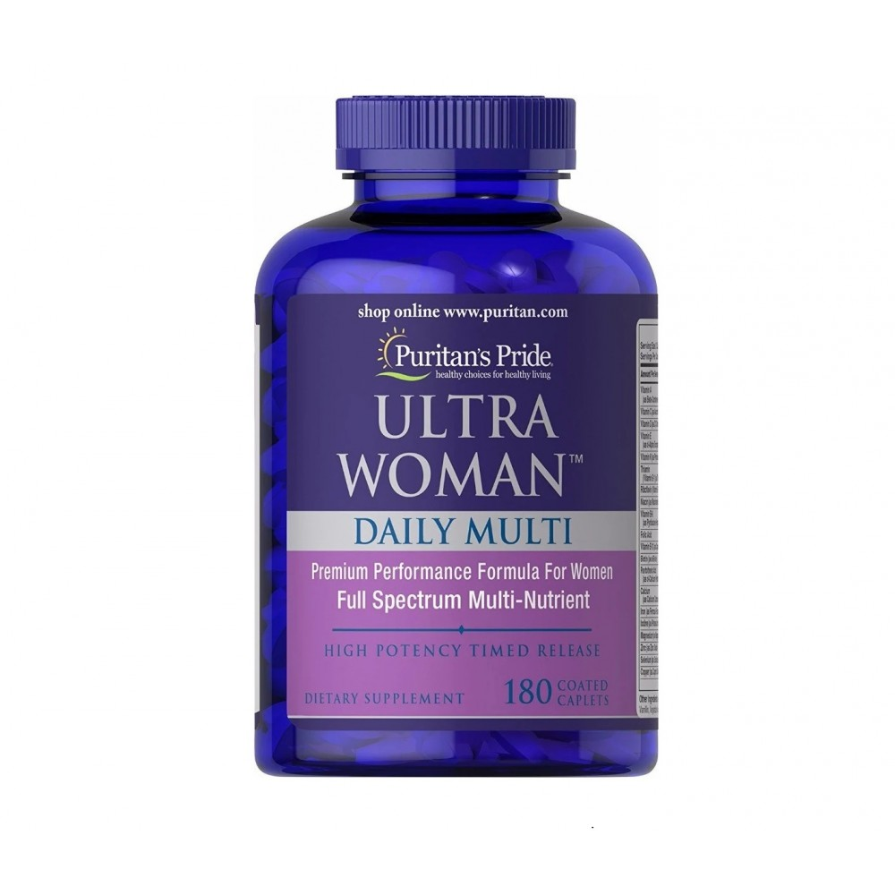 Puritan's Pride Ultra Woman Daily Multi Timed Release (180 capl)