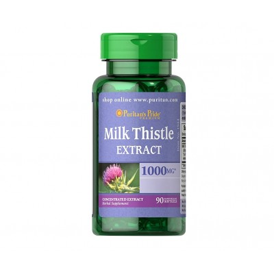 Puritan's Pride Milk Thistle Extract 1000 mg (90 caps)