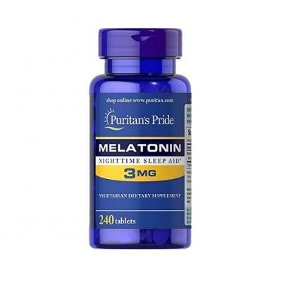 Puritan's Pride Melatonin 3mg (240 tabs)