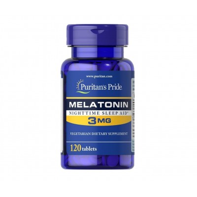 Puritan's Pride Melatonin 3mg (120 tabs)