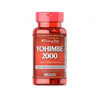 Puritan's Pride Yohimbe 2000 (50 caps)