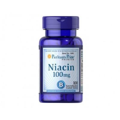 Puritan's Pride Niacin 100 mg (100 tabs)