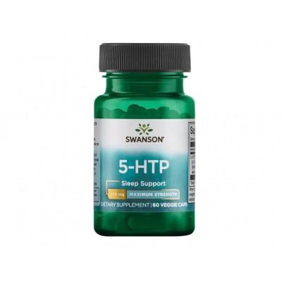 Swanson 5-HTP Maximum Strength 200 mg (60 veg caps)