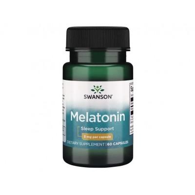 Swanson Melatonin 3 mg (60 caps)