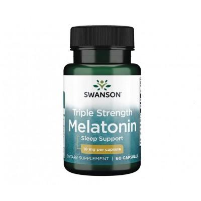 Swanson Triple Strength Melatonin 10 mg (60 caps)