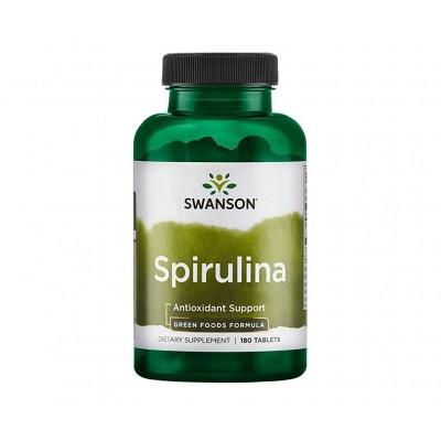 Swanson Spirulina 500 mg (180 tabs)