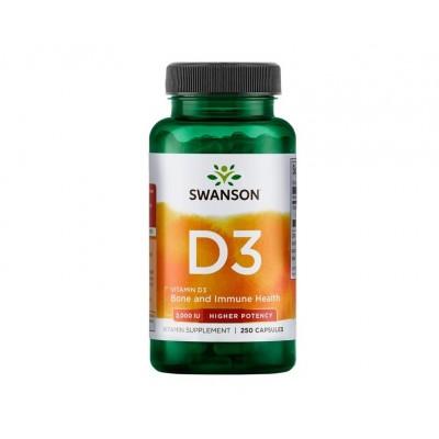 Swanson Vitamin D3 2,000 IU (250 caps)